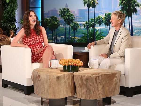 Keira Knightley pregnant Ellen DeGeneres