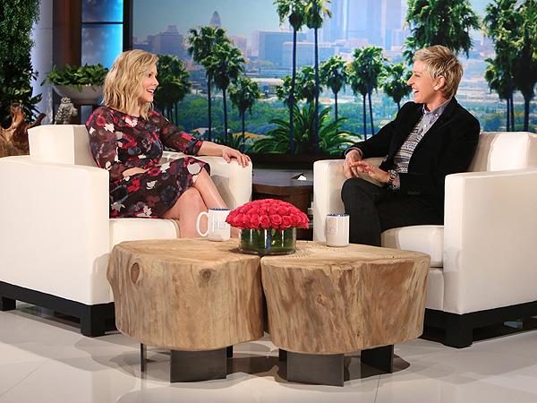 Kristen Bell csection experience Ellen DeGeneres