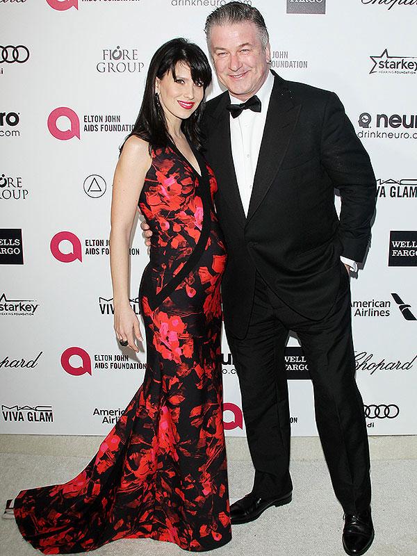 Alec Hilaria Baldwin pregnant Oscars