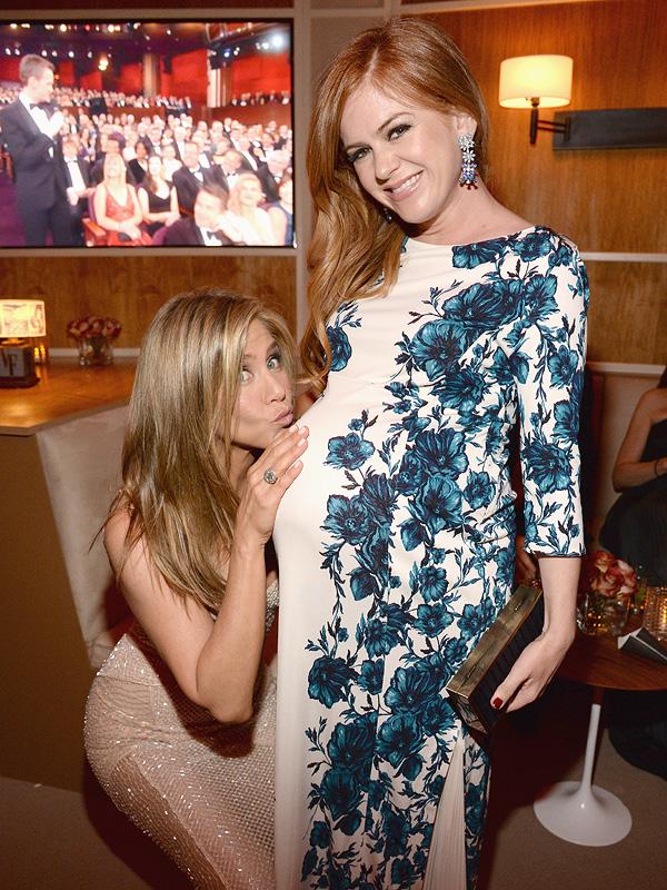 Jennifer Aniston Isla Fisher Vanity Fair Oscars party