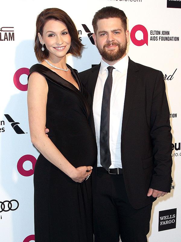 Sharon Osbourne Lisa Osbourne Jack Osbourne Elton John Oscars Viewing party
