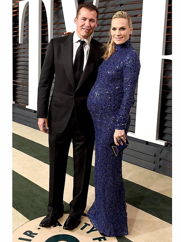 Molly Sims pregnant Oscars