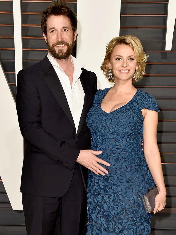 Noah Wyle Sara Wells Vanity Fair Oscars after party