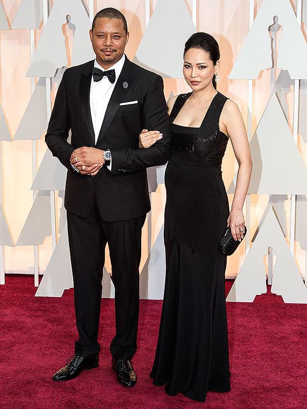 Terrence Howard wife pregnant Oscars