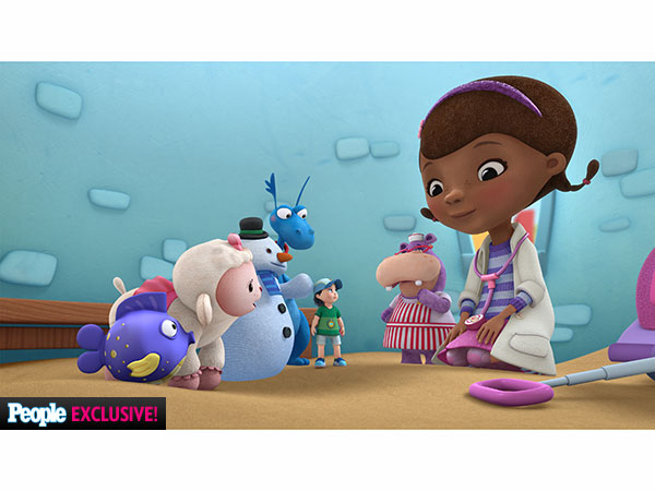Dot-Marie Jones Disney Doc McStuffins