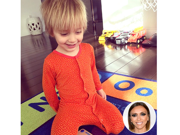Giuliana Rancic son Duke pajamas