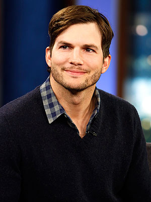 Ashton Kutcher Easter bunny daughter Wyatt