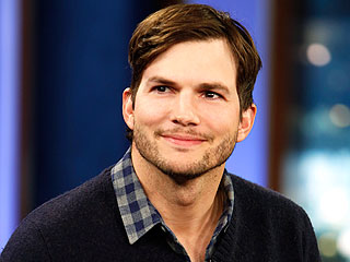 Ashton Kutcher Petitions for Diaper-Changing Stations in Men's Restrooms