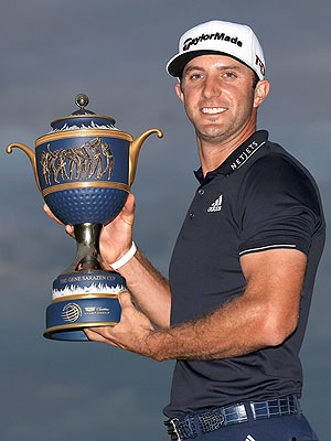Dustin Johnson Cadillac Championship