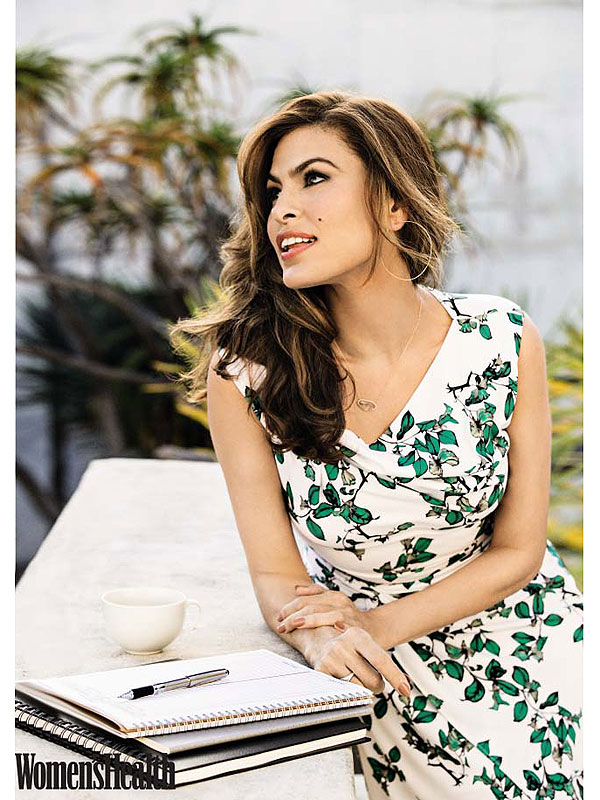Eva Mendes Women's Health