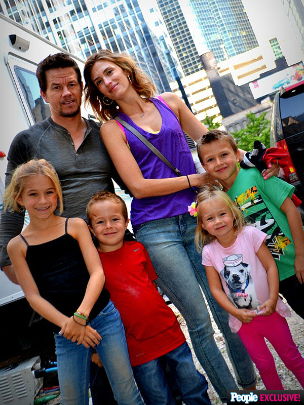How Many Kids Does Mark Wahlberg