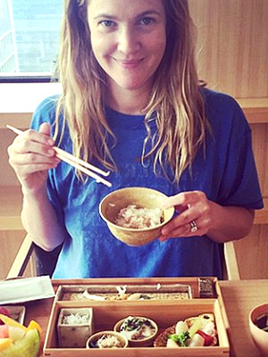 Drew Barrymore's Tokyo Food Tour