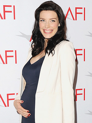 Jessica Pare Welcomes Son Blues