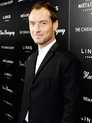Jude Law Welcomes Baby No. 5