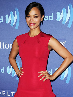 zoe saldana shares advice for new moms