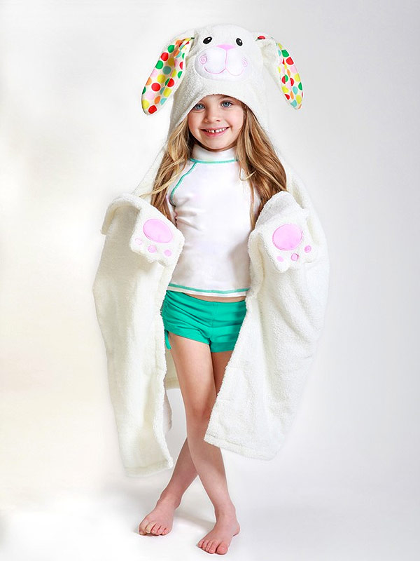 Zoochini Bunny Towel