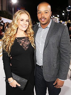 Donald Faison CaCee Cobb Welcome Daughter