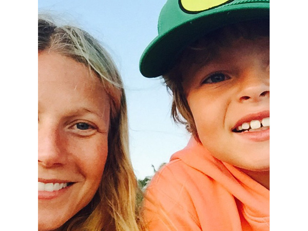 Gwyneth Paltrow son Moses birthday photo Instagram