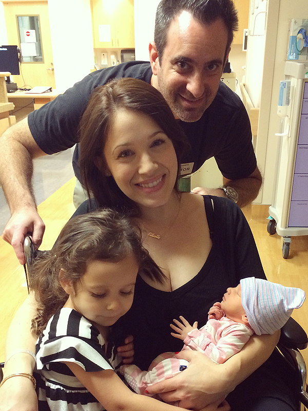 Marla Sokoloff blog daughter Olive birth story