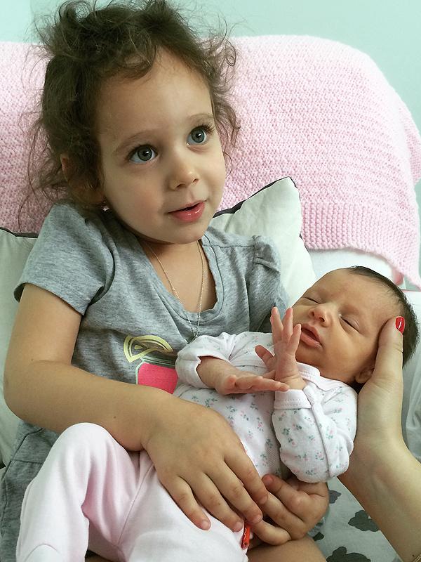 Marla Sokoloff blog daughter Olive birth story