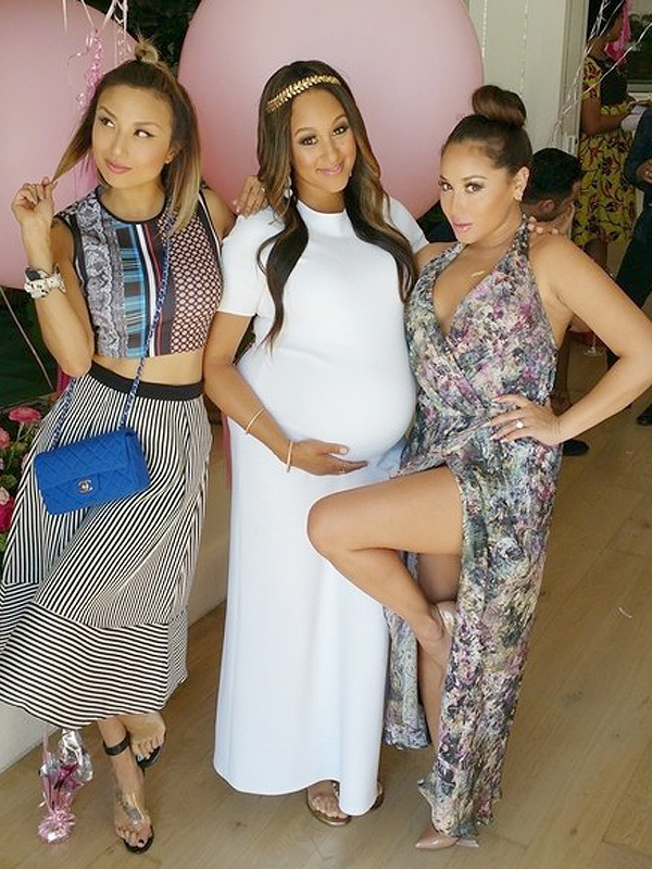 tamera mowry housley celebrates baby shower moms babies