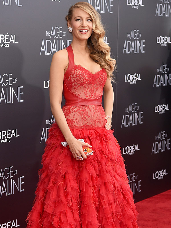 Blake Lively Age of Adaline premiere