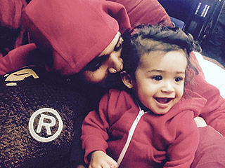 Chris Brown Cuddles Up with His Daughter – See the Sweet Pics