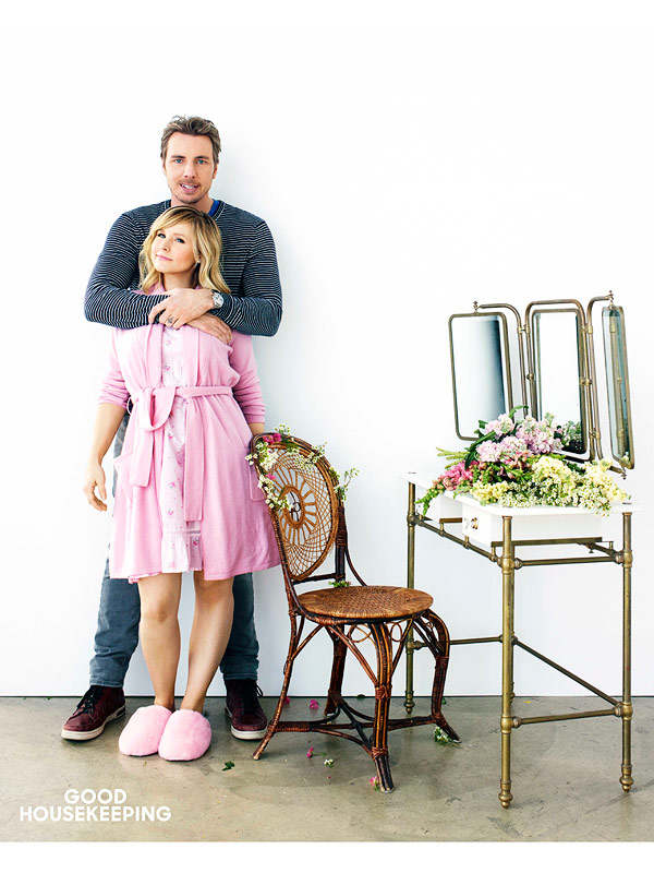 Kristen Bell Dax Shepard Good Housekeeping