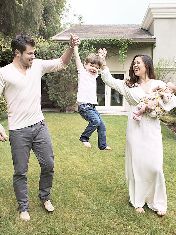 Vanessa Lachey First Photo of Brooklyn