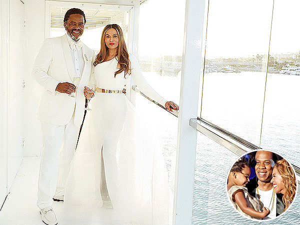 Blue Ivy Prompted Tina Knowles to Marry Richard Lawson