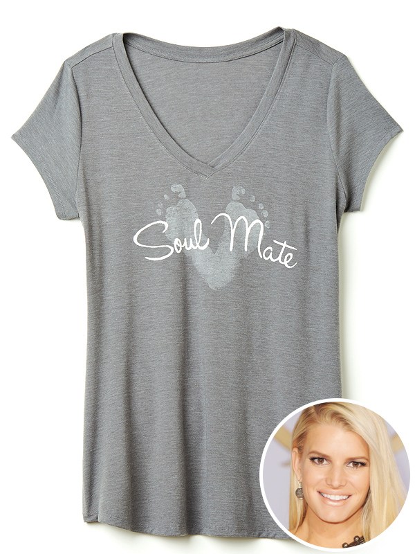 Jessica Simpson Mother's Day soul mates shirt