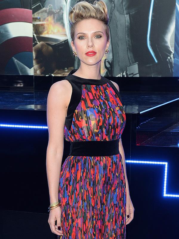 Scarlett Johansson Avengers: Age of Ultron Premiere