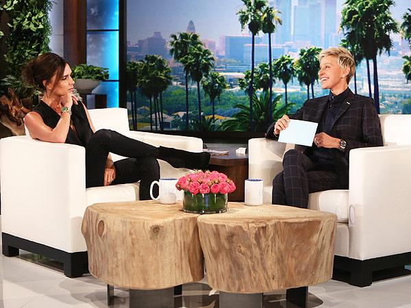 Victoria Beckham Ellen DeGeneres Show