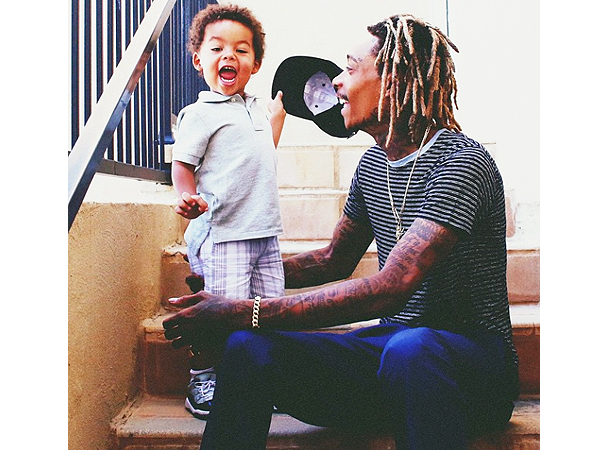 Wiz Khalifa son Sebastian Black and Yellow Instagram