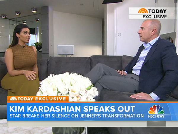 Kim Kardashian West Surrogate Today Show