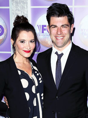 Max Greenfield Tess Sanchez Pregnant Expecting Second Child