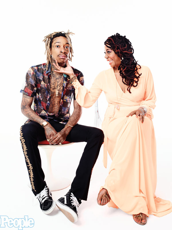 Wiz Khalifa mom Peachie Wimbush