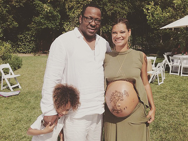 Bobby Brown Alicia Etheredge-Brown Baby Shower