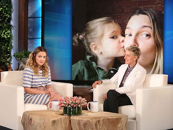 Drew Barrymore Ellen DeGeneres