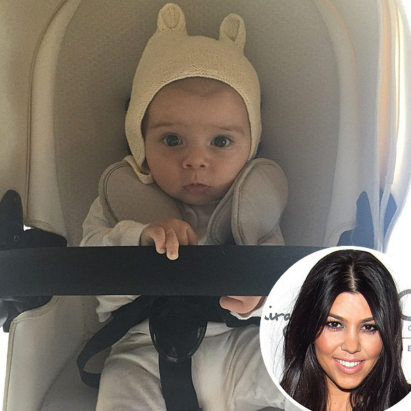 Kourtney Kardashian son Reign photo