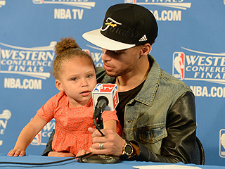 Stephen Curry's Daughter Steals the Spotlight at NBA Press Conference (Again!)