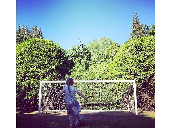 Harper Beckham David Beckham Soccer