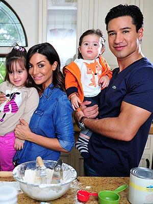 Mario Lopez Family 2014