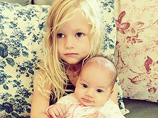 Jessica Simpson's Daughter Maxwell Cuddles with CaCee Cobb's Baby Girl:  '#DoubleBFF' (PHOTO)