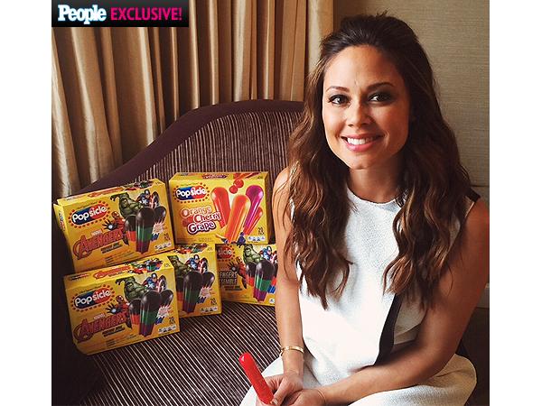 Vanessa Lachey popsicle avengers