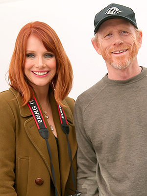 Bryce Dallas Howard Ron Howard best grandpa