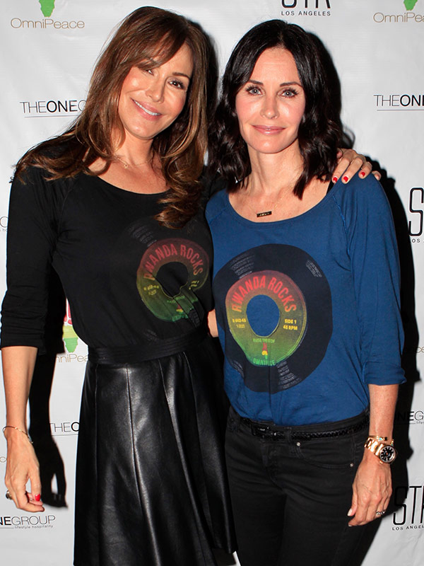 Courteney Cox OmniPeace STK restaurant launch