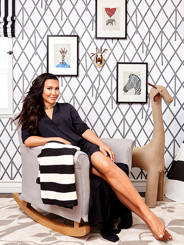 Naya Rivera nursery