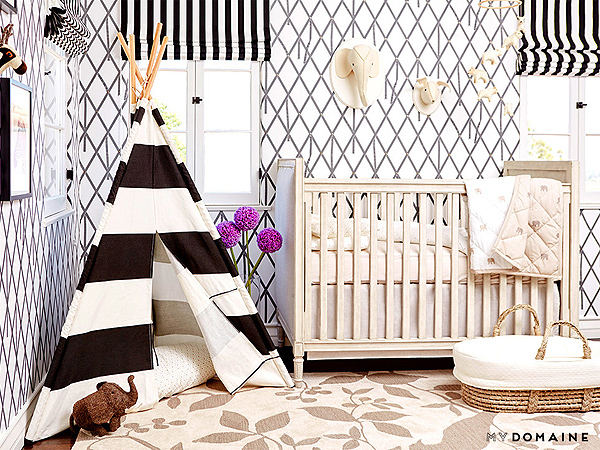 Inside Naya Rivera's Neutral-Toned Nursery – Inspired By a ...