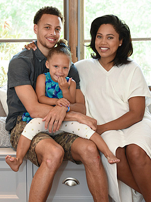 Stephen Curry welcomes daughter ryan carson